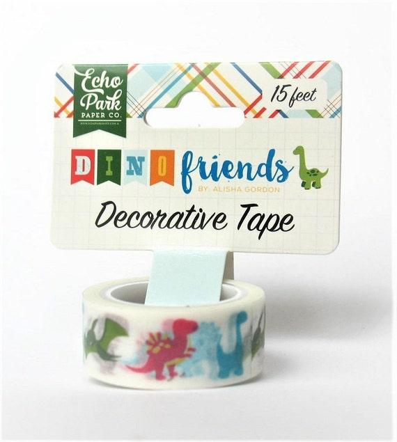Echo Park BOY WORDS Decorative Tape 15 Feet Washi Scrapbook Planner