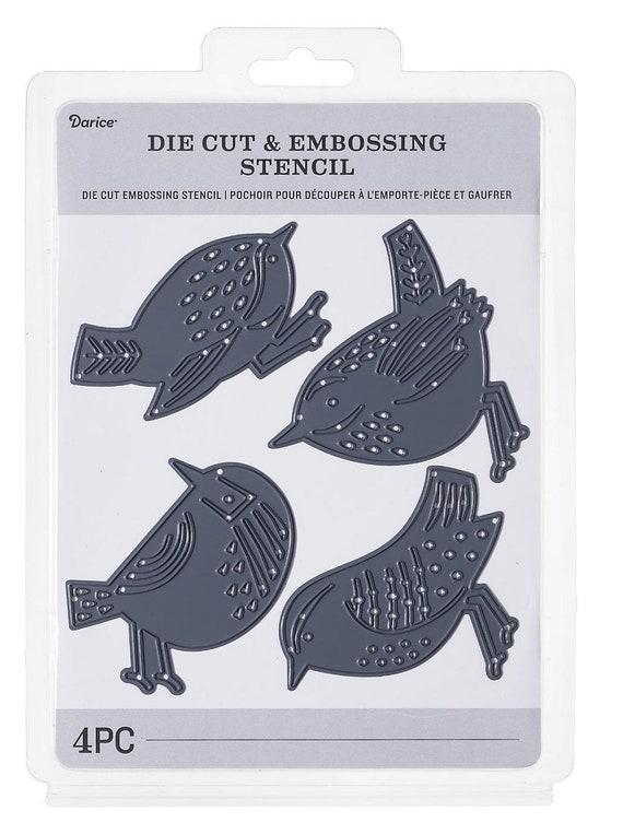 Darice Cutting Dies HONEYCOMB /& BEE 4 pieces Die Cut Embossing Stencil 30032573