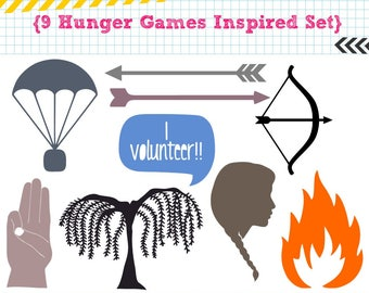 9 Hunger Games Inspired Set