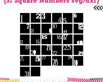 31 Square Numbers