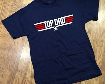 Top Dad Pilot T-shirt Gift Set for Daddy Baby Shower - Great for Fathers Day or Birthday!