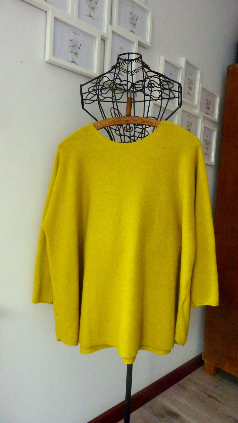 Women Warm Citrone Tunic.Soft Maternity Plus Size Sweater Comfy Top.Tunic tops for women.Tunic in the spring.