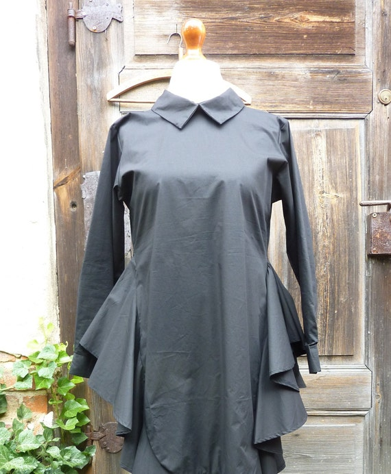 99a1a9cb15b womens cotton clothing . M size lagenlook dress tunic.