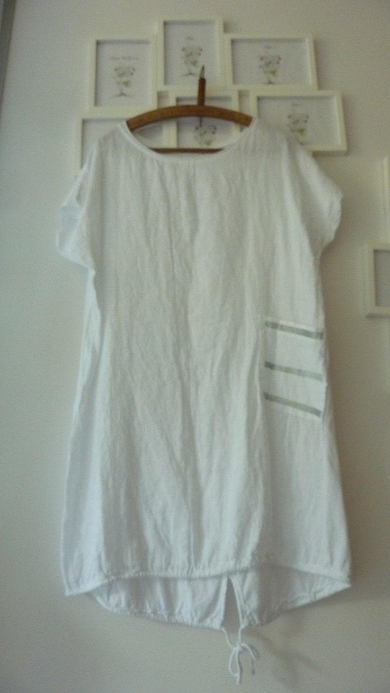 b80e64d4bda20 Handmade linen derss tunic white color. linen dresses for women.linen  clothing for wommen.bohemian linen clothing