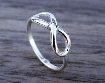 Infinity ring etsy