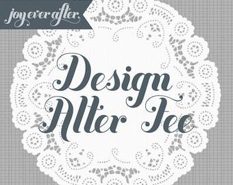 Design Alter Fee