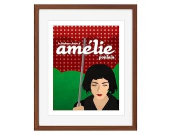 Amelie minimalist movie poster