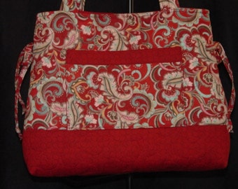Quilted Bag Quilted Purse Quilted Handbag Tote Bag Custom Made for YOU by Quilted Creatons By Me