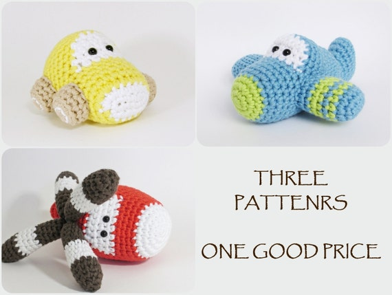 Boeing amigurumi free pattern | Crochet toys free patterns ... | 429x570