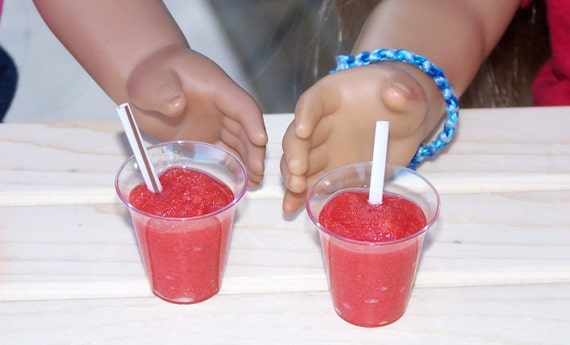 """18/"""" doll shake smoothie drink cup fr Our Generation American Girl dolls"""
