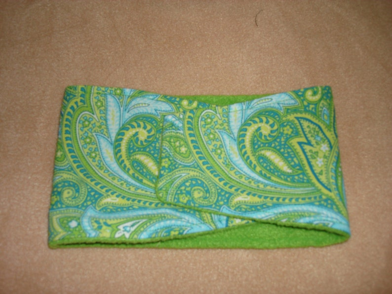 Available in all Sizes Dog Diaper Male Dog Belly Band Green Paisley