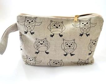 Knitting Project Bag, Organizer, Zippered Project Bag, Travel Bag, Gadget Case Storage Organizer, Cosmetic Bag