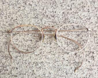 0e06eed63aa Vintage Edwardian 12k Gold Glasses - Frame Only