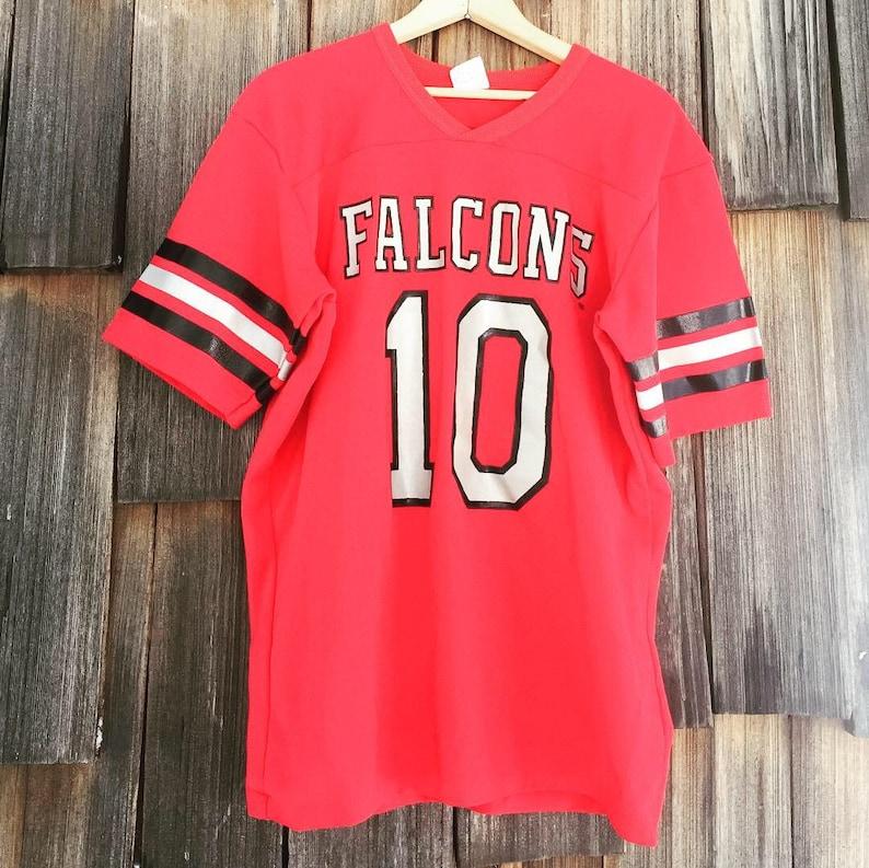 quality design ee4db f79d2 Vintage Atlanta Falcons Shirt by Rawlings USA - M/L