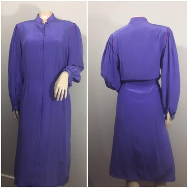 Francesca of Damon for Starington // Purple Slightly Pleated image 0
