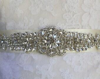 Wedding Belt, Bridal Belt, Sash, Bridal Sash, Belt, Crystal Sash, Rhinestone Belt, Wedding Belt Sash, Crystal Wedding Belt