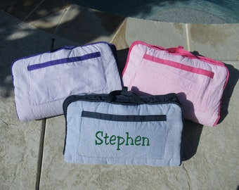 Nap Mat personalized Large Size Including Blanket, Pad, and Pillow