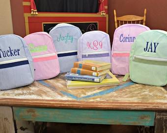 Backpack - Personalized Backpack for Toddlers, Ring Bearer Gift, Flower Girl Gift, Christmas Present, Birthday Present, Nap Mat