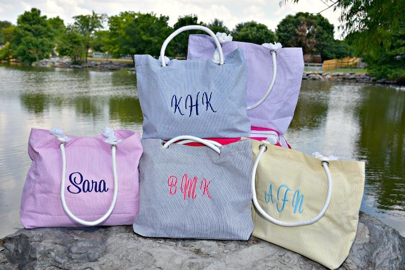 Chevron Shoulder Bag Chevron Diaper Bag Gray Tote Bag Beach Bag Beach Tote Bag Bridesmaids Bag Personalized tote Bridesmaids Gift