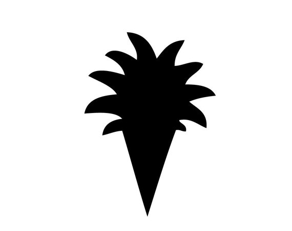 DIGITAL DOWNLOAD Pineapple Cupcake or Donut Topper. Svg, pdf, jpeg, png files included. Perfect for birthdays or weddings.  Works on Cricut.