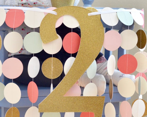 Large Glittered Number(s) - Perfect for birthdays, anniversaries, graduations, and much more. Choose from a wide range of colors!