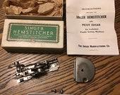 Singer Featherweight 221 Vintage Original Hemstitcher 121387
