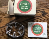 Singer Featherweight 221 Original Stocking Darner 35776 with box instruction booklet