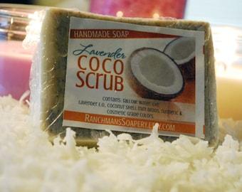 Handmade Lavender CoCo Scrub