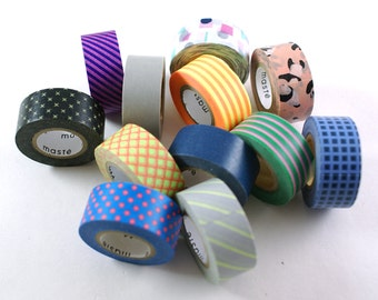 ALMOST FREE with 30 DOLLAR purchase - Maste japanese washi tape - 7 yard roll