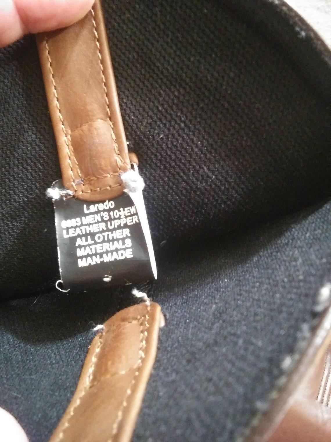 Laredo Mens 10.5 Ew Brown Cowboy Western Boots Free Usa - Big Sale SeqSC