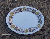 Johnson Bros. 39 39 Fairwood 39 39 Transferware Oval Pattern Platter 1960s - Beautiful