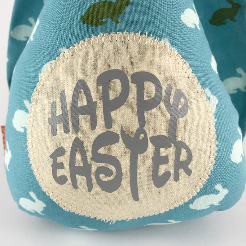 Personalised Easter bunny gift for baby boy