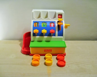 Fisher Price Cash Register With Coins