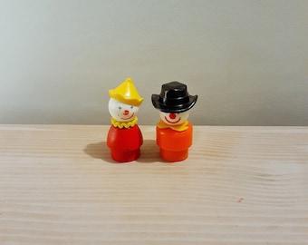 Fisher Price Vintage Clowns