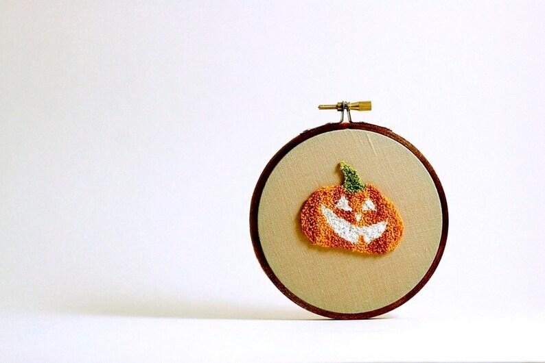 Pumpkin Jack-o-Lantern Glow in the Dark Halloween Decoration. image 0