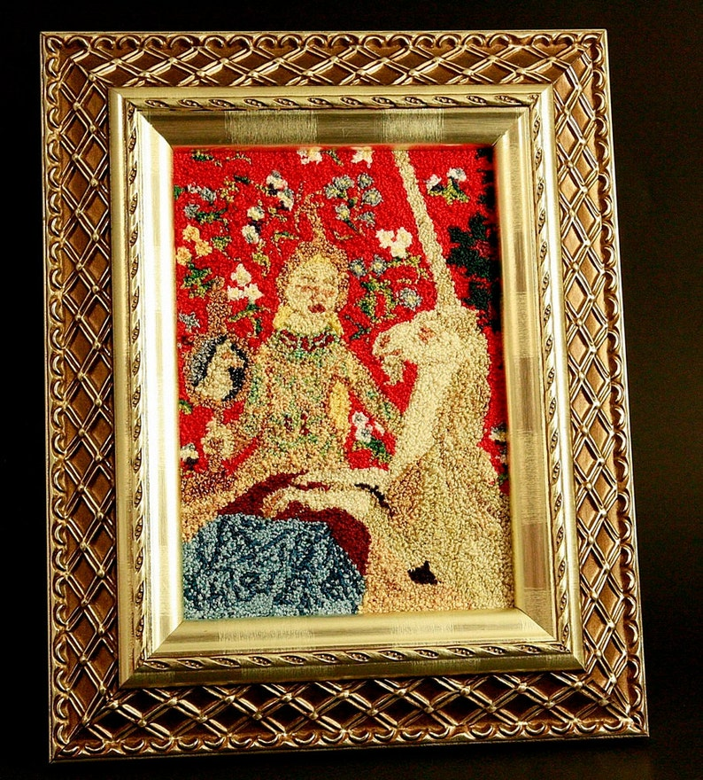 The Lady and The Unicorn Wall Hanging. The Tapestry image 0