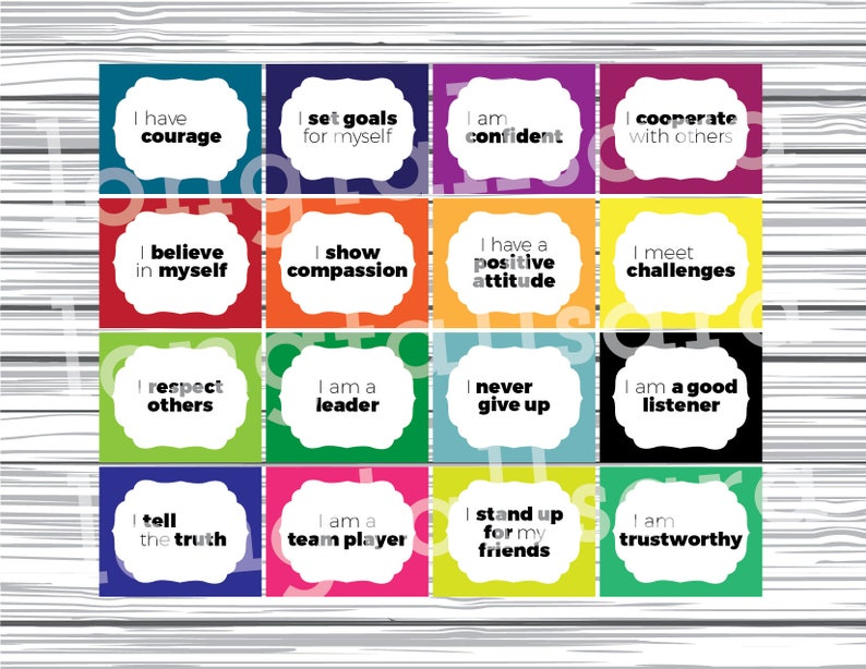 graphic regarding Classroom Signs Printable named Printable Clroom Signs or symptoms - Brag Tags - Beneficial Promises - Fundamental Higher education - Instructors - Clroom Decor