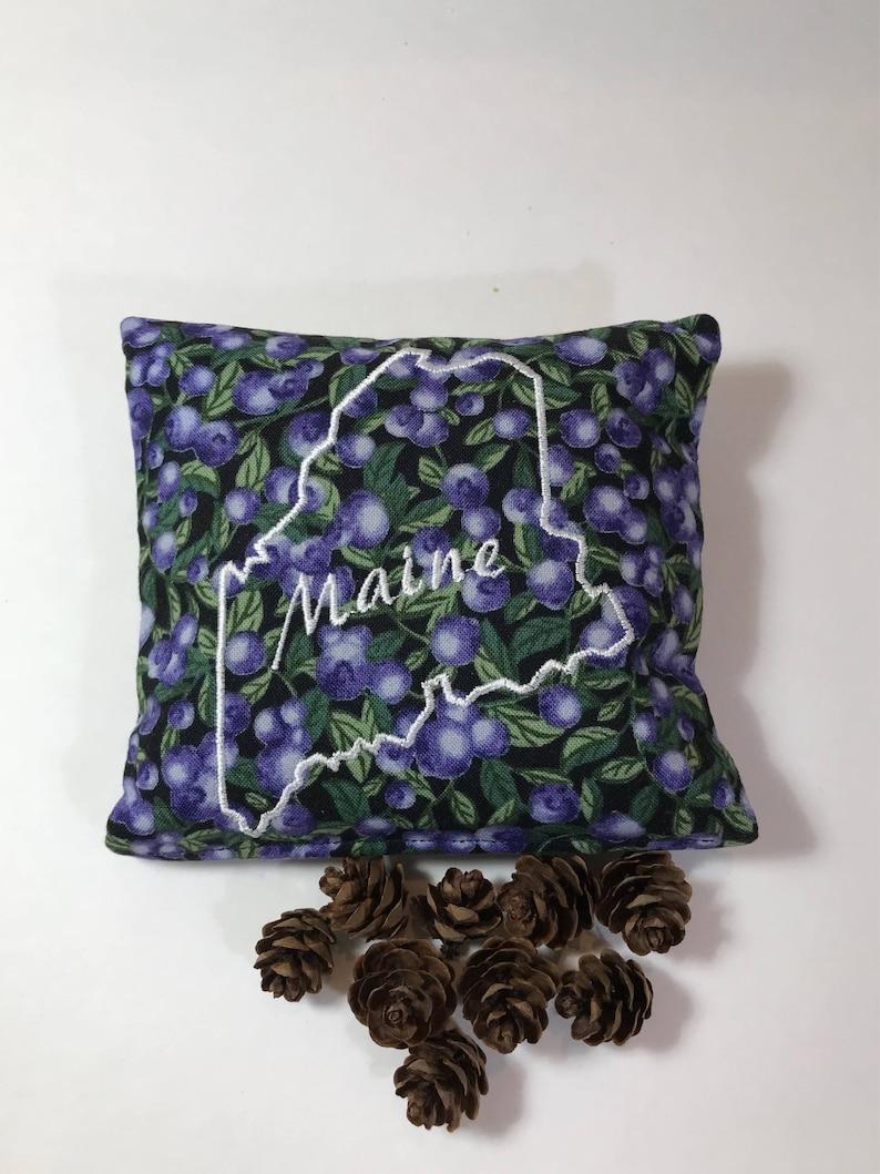 Maine Outline Blueberry Balsam Fir, Balsam Sachet