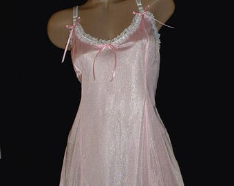 Baby Doll  Sissy Baby  Shiny Tricot &  Lace