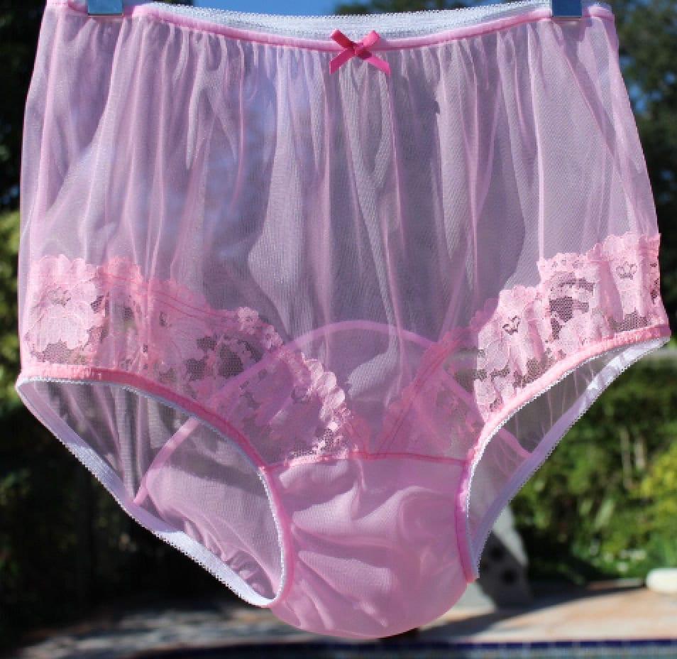 Vintage Panties W Large Double Mushroom Gusset - Nel-Jen -3670