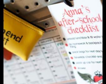 After-School Checklist