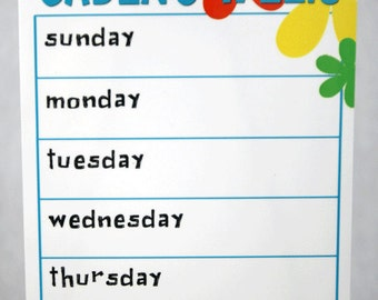 Personalized Weekly Calendar