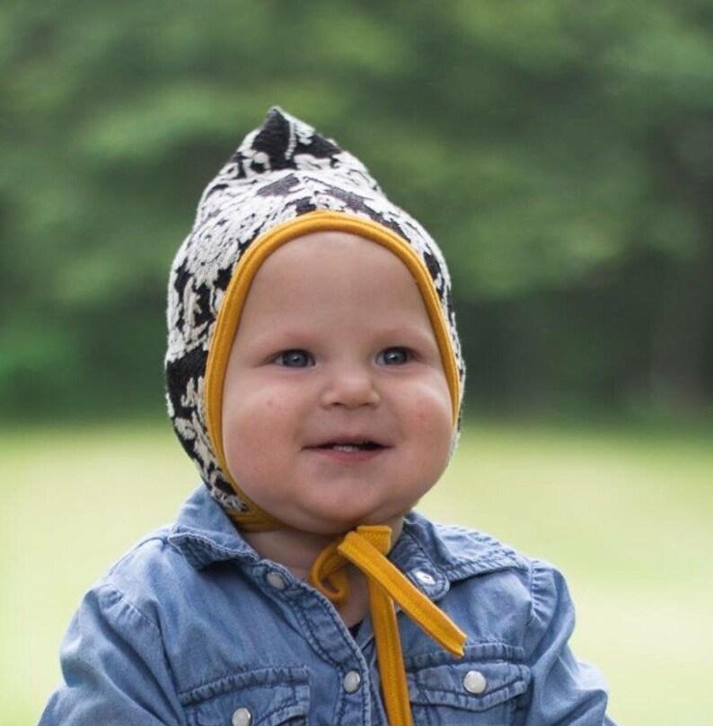 e25e8b7456e49 Chapeau pilote bébé chapeau bébé fille chapeau de prothèse | Etsy