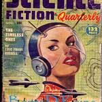 Vintage Science Fiction Quarterly 1952 print