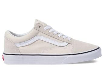 cd952bc230 Swarovski Vans Old School Women s Skate Shoes Blinged out with SWAROVSKI®  Crystals Bling Vans in Nude