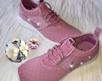 Bling Nike Juvenate Shoes with Swarovski Crystals   Orchid   Bedazzled  w 100% Authentic Swarovski Crystal Rhinestones cfbbae9a19a