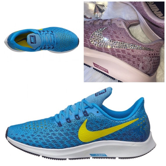 NEW Bling Nike Air Zoom Pegasus 35 Shoes with Swarovski  9d6566218