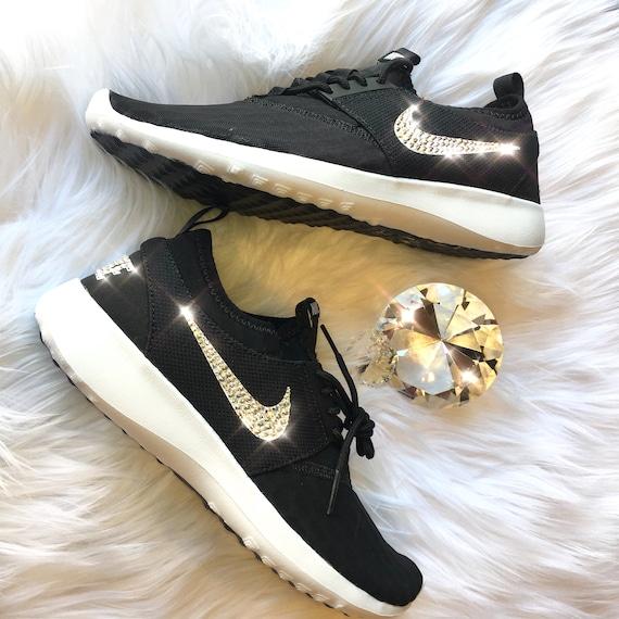 Bling Nike Juvenate Shoes with Swarovski Crystals Black    c7a304ec0d90