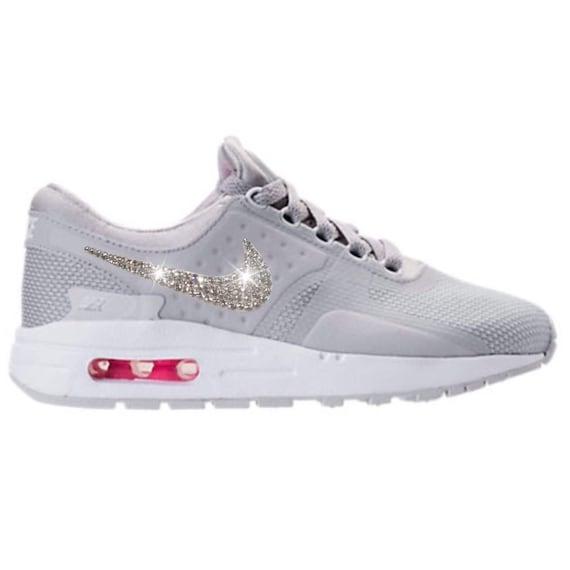 Bling Nike Air Max Zero Essential Shoes with Swarovski Crystal  eea9c98b7797