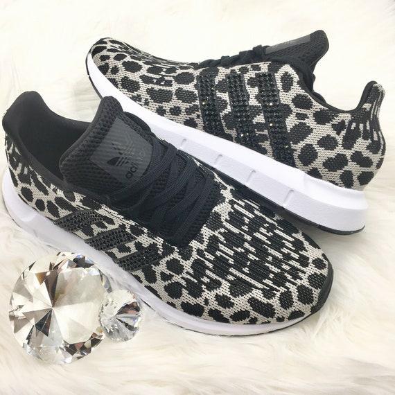 women's adidas swift run leopard